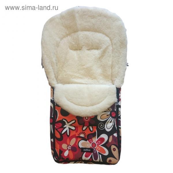 Спальный мешок в коляску North pole, 18 цветки