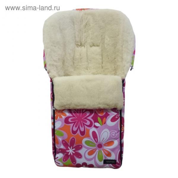 Спальный мешок в коляску Aurora, 14 цветки