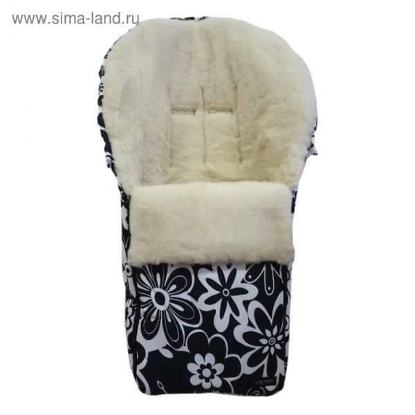 Спальный мешок в коляску Aurora, 19 цветки