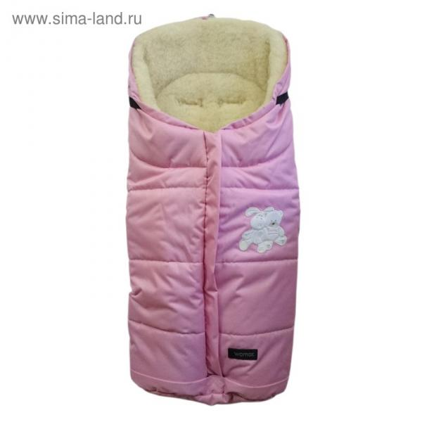 Спальный мешок в коляску Wintry, 3 розовый