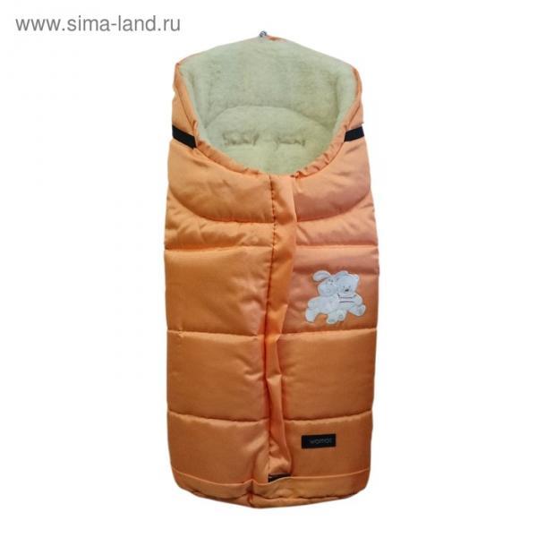 Спальный мешок в коляску Wintry, 2 оранжевый