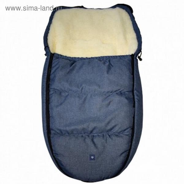 Спальный мешок в коляску Exclusive, гранатовый
