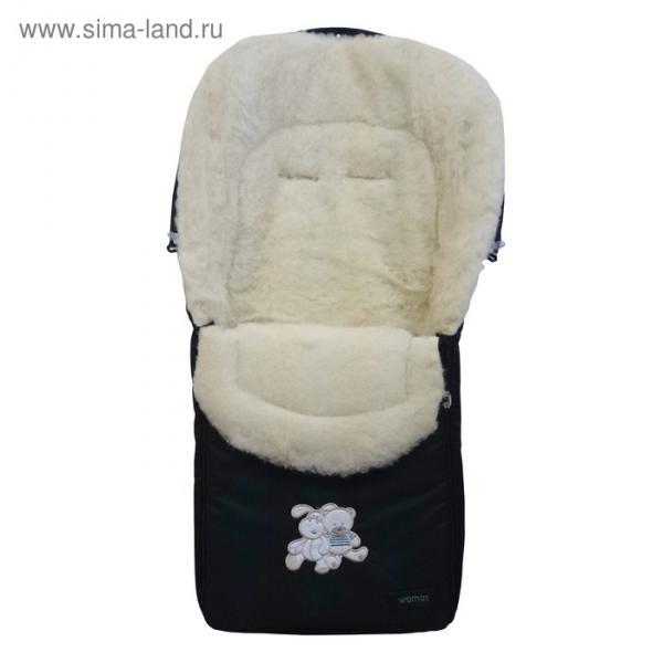 Спальный мешок в коляску North pole, 12 чёрный