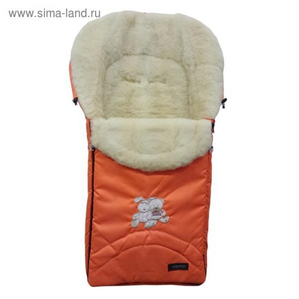 Спальный мешок в коляску Excluzive, 2 оранжевый