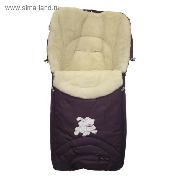 Спальный мешок в коляску Excluzive, 5 бордовый