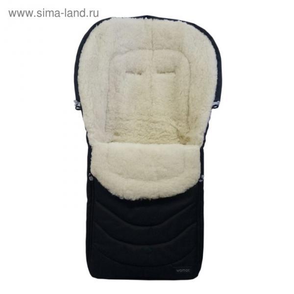 Спальный мешок в коляску Black frost, 12 чёрный