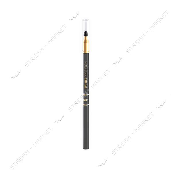 Карандаш для глаз Eveline Cosmetics Eye Max precision с растушевкой Серый