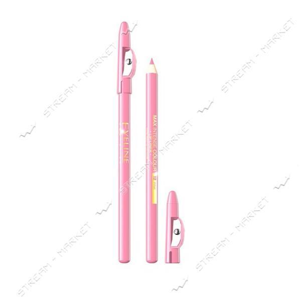 Карандаш для губ Eveline Cosmetics контурный с точилкой №21 Transparent