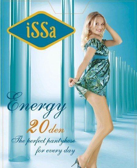 Фото  Колготки ISSA PLUS Energy 20  5 черный