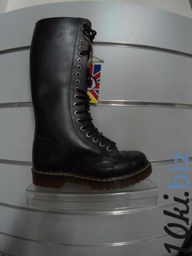 Ботинки STEEL 139/140O-BL/AL/KEN (кожа, шкіра, черевики, 20 дыр) 38, цена фото купить в Киеве. Раздел Ботильоны, ботинки женские