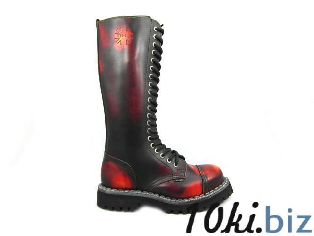 Ботинки STEEL 139/0/YBR ботинки 20 дыр.чёрно красные (кожа, стальной носок, черевики, шкіра) 39, цена фото купить в Киеве. Раздел Ботильоны, ботинки женские