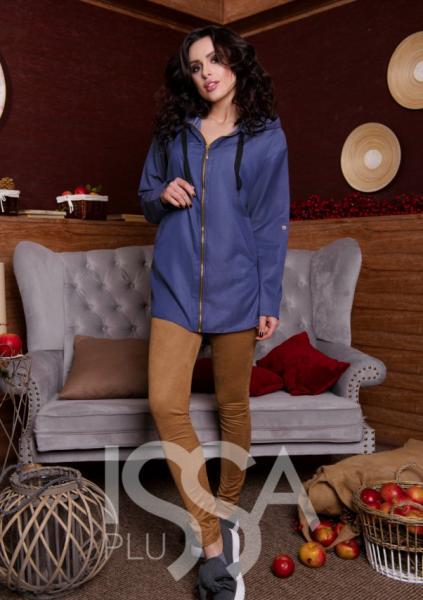 Рубашки ISSA PLUS 1549  S/M синий