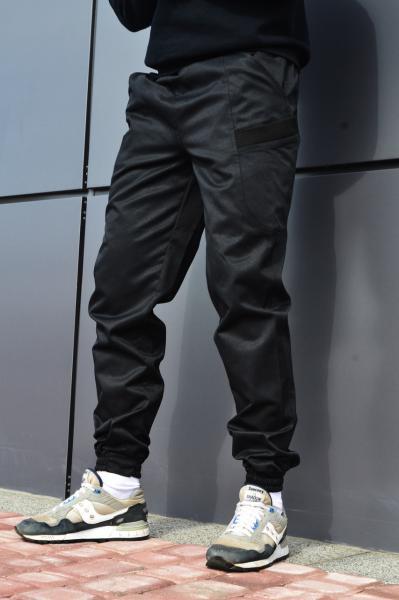 Мужские карго штаны черные ТУР модель Spartacus S