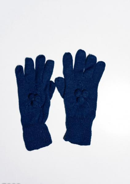 Фото  Женские перчатки ISSA PLUS 7892  Universal темно-синий