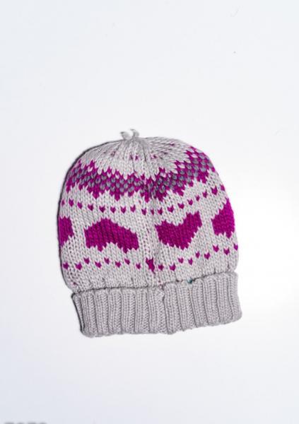 Фото  Женские шапки ISSA PLUS 7972  Universal серый