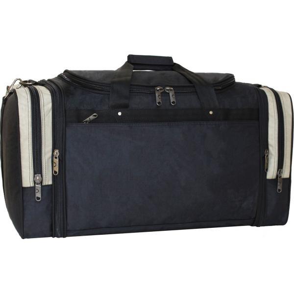 Украина Спортивная сумка Bagland Мюнхен 59 л. Черный/оливка (0032570)
