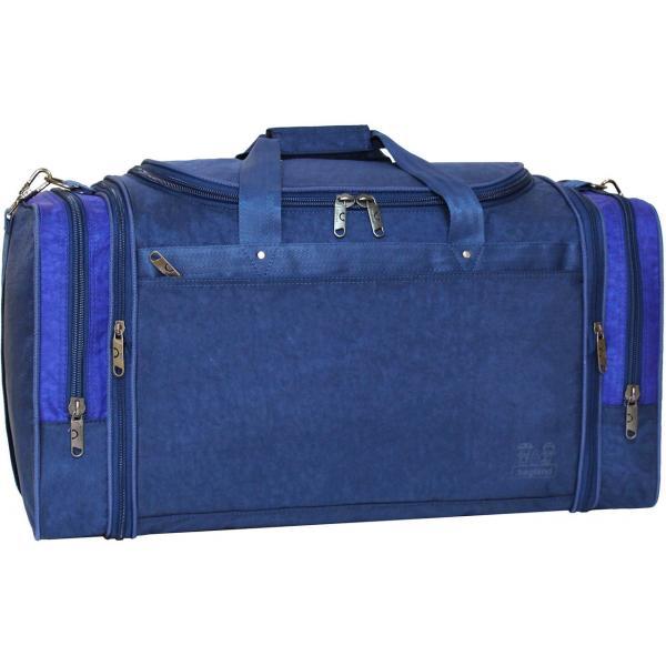 Украина Спортивная сумка Bagland Мюнхен 59 л. Синий/электрик (0032570)