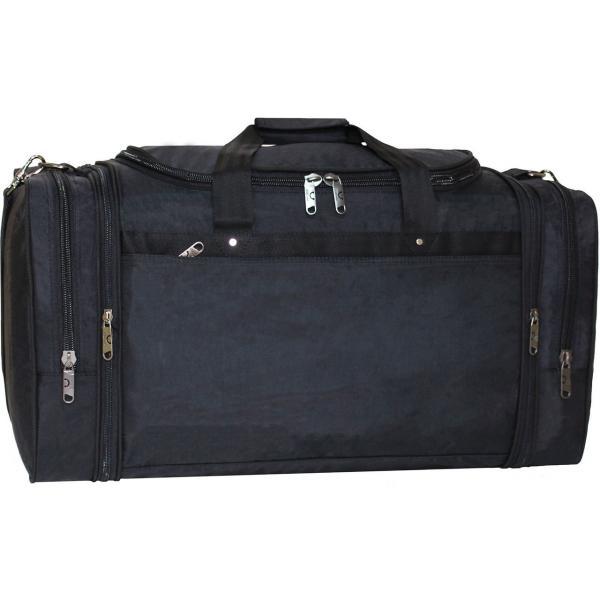 Украина Спортивная сумка Bagland Мюнхен 59 л. Черный (0032570)