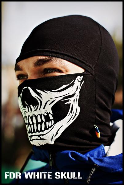 Балаклава FDR White Skull