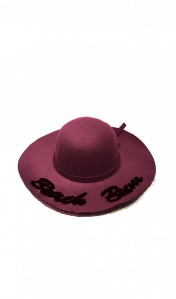 Шляпы ISSA PLUS 4095  Universal бордовый