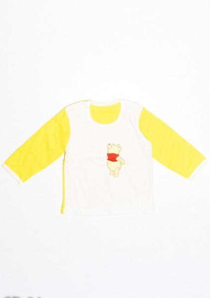 Толстовки ISSA PLUS CD-34  12 месяцев (78-82р) белый/желтый