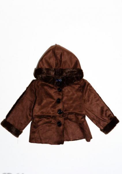 Пальто ISSA PLUS CD-64  2 года (88-92р) коричневый