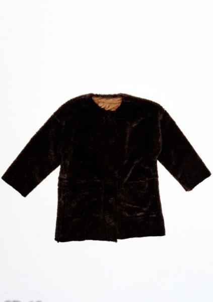 Пальто ISSA PLUS CD-65  5 лет (105-110р) коричневый
