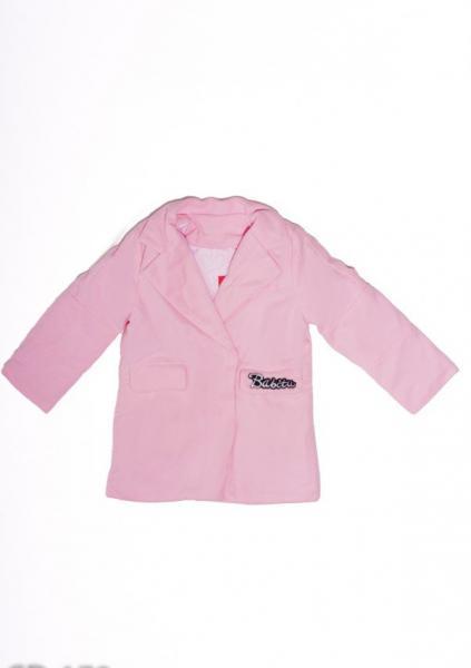 Пальто ISSA PLUS CD-179  2 года (88-92р) розовый