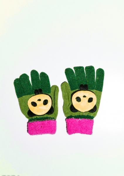 Детские перчатки и варежки ISSA PLUS 7874  Universal салатовый/зеленый