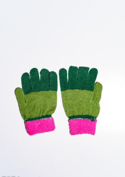 Фото  Детские перчатки и варежки ISSA PLUS 7874  Universal салатовый/зеленый