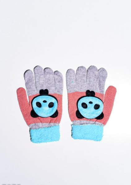 Детские перчатки и варежки ISSA PLUS 7874  Universal серый/голубой