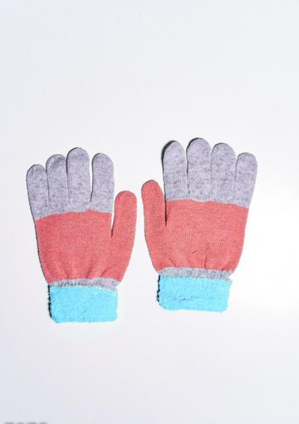 Фото  Детские перчатки и варежки ISSA PLUS 7874  Universal серый/голубой