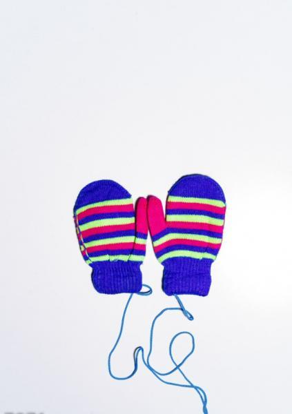 Детские перчатки и варежки ISSA PLUS 7871  12 месяцев электрик