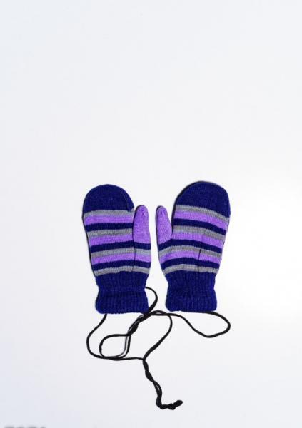 Детские перчатки и варежки ISSA PLUS 7871  12 месяцев темно-синий