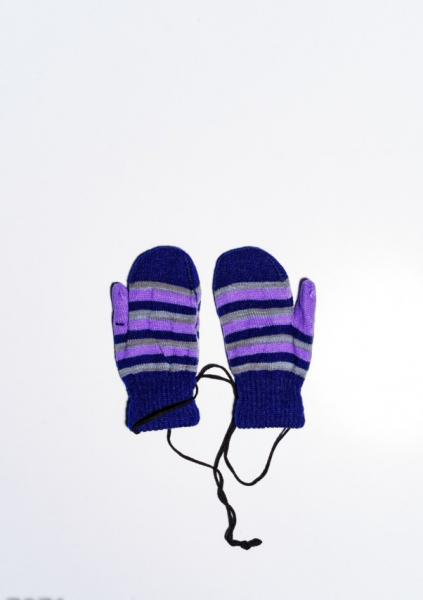 Фото  Детские перчатки и варежки ISSA PLUS 7871  12 месяцев темно-синий