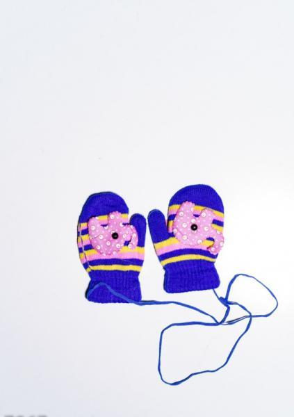 Детские перчатки и варежки ISSA PLUS 7867  12 месяцев электрик
