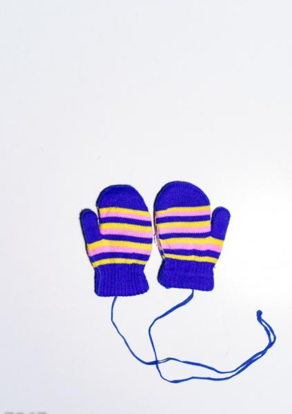 Фото  Детские перчатки и варежки ISSA PLUS 7867  12 месяцев электрик