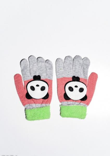 Детские перчатки и варежки ISSA PLUS 7874  Universal салатовый/серый