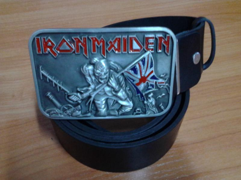 Ремень Iron Maiden