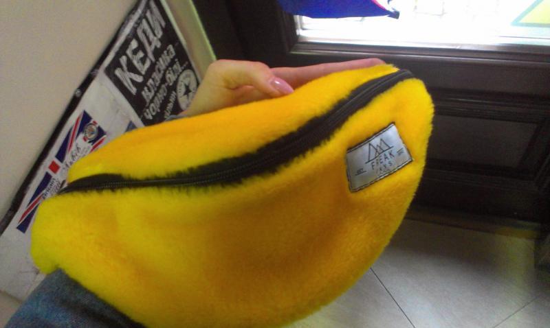 Поясна сумка бананка Freak days Moss Yellow