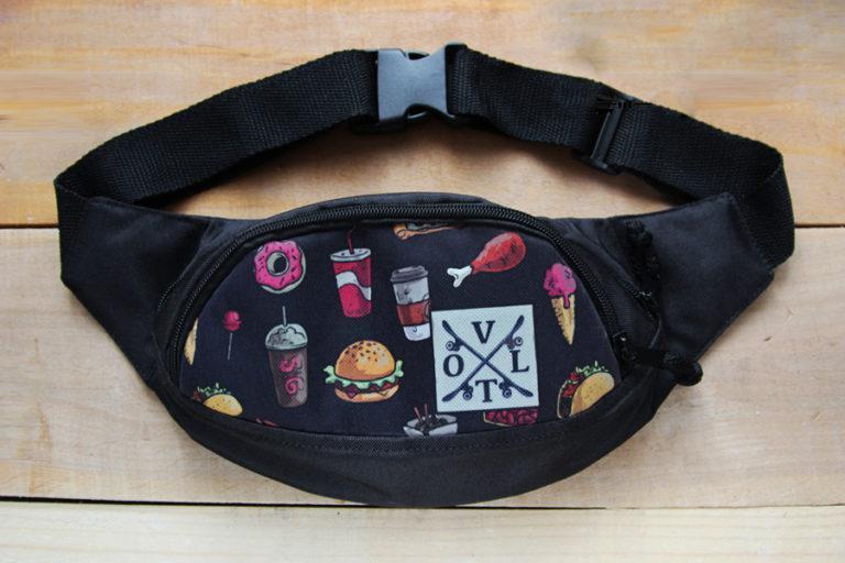 Поясная сумка, Бананка VOLT Fast Food
