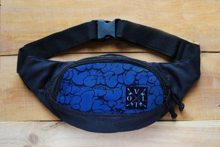 Поясная сумка, Бананка VOLT Graffiti Blue