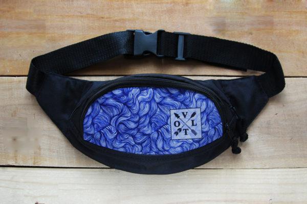 Поясная сумка, Бананка VOLT Wind blue