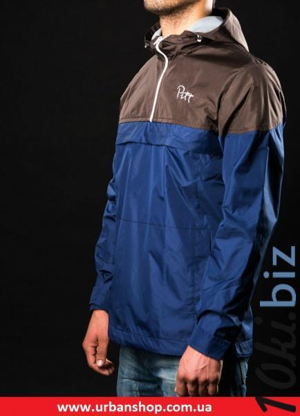 Анорак Pitt Blue and brown  XS, цена фото купить в Киеве. Раздел Куртки мужские