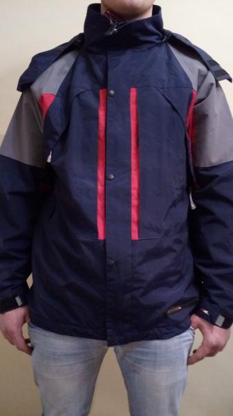 Парка куртка Trespass сине-красная весна