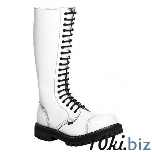 Ботинки STEEL 139/0 FULL WHITE ботинки 20 дыр.белые (кожа, стальной носок, шкіра, черевики) 40, цена фото купить в Киеве. Раздел Ботильоны, ботинки женские