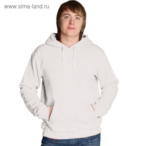 Толстовка мужская StanFreedom, размер 50, цвет белый 280 г/м