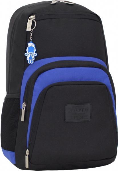 Украина Рюкзак для ноутбука Bagland Freestyle 21 л. Чорный/электрик (0011966)