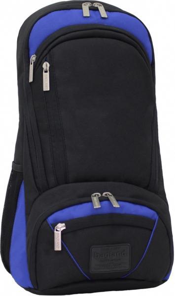 Украина Рюкзак для ноутбука Bagland Granite 23 л. Чорный/электрик (0012066)