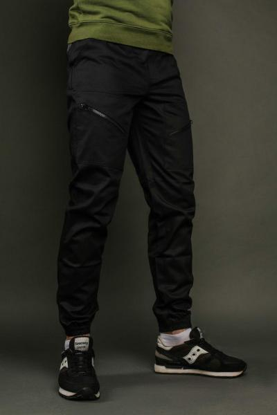 Мужские брюки карго черные ТУР  Apache